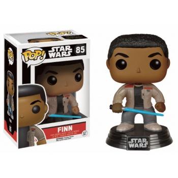 Funko POP! Star Wars - The Force Awakens: Finn Fénykarddal