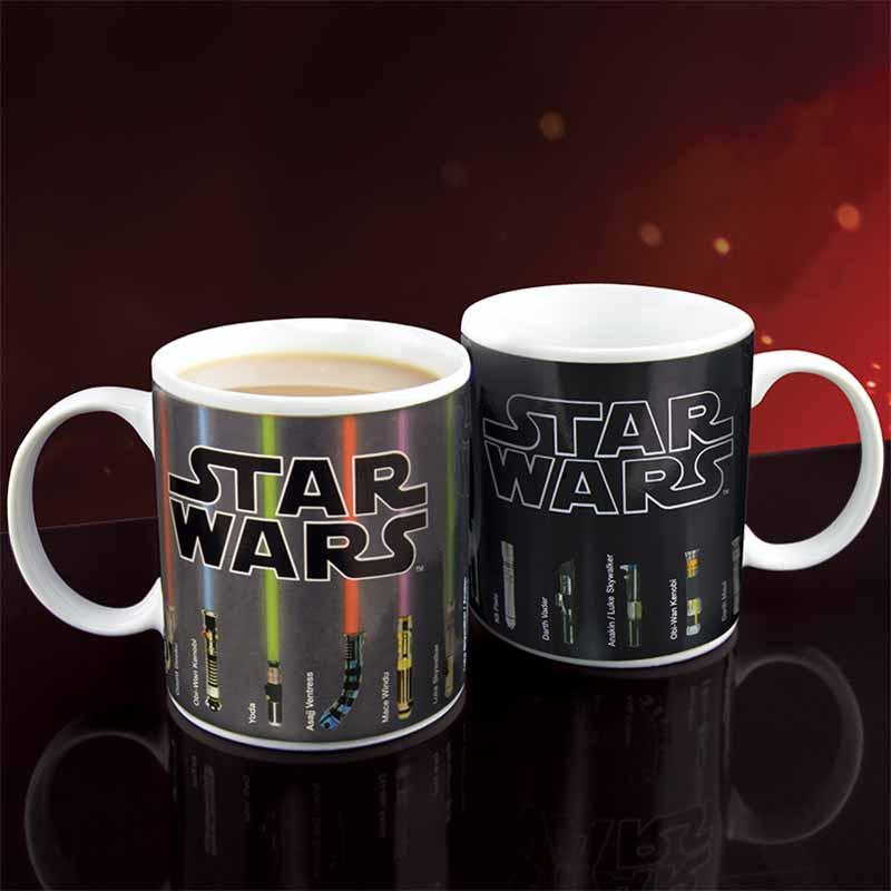 Star Wars: Fénykardok Hőre Változó Bögre
