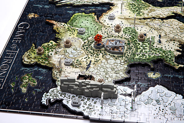 4d Cityscape Game Of Thrones Puzzle Of Westeros
