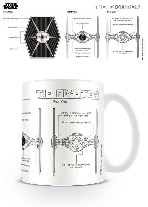 TIE FIghter mug