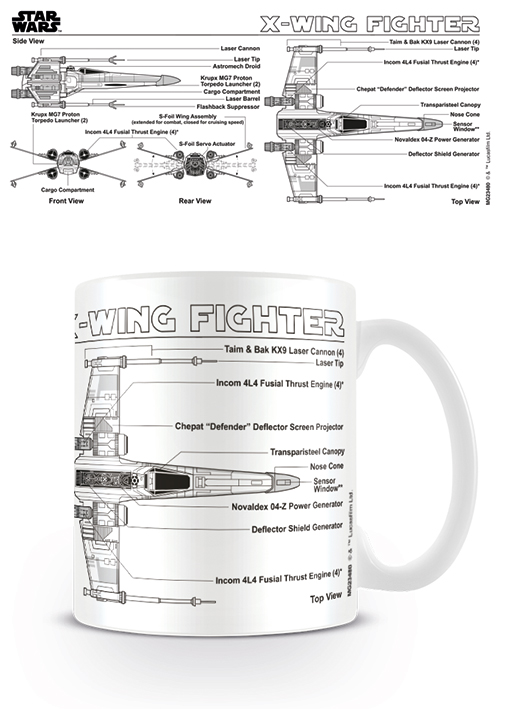 X-Wing bögre