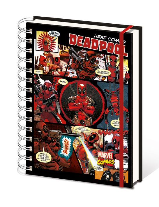 Deadpool jegyzetfüzet