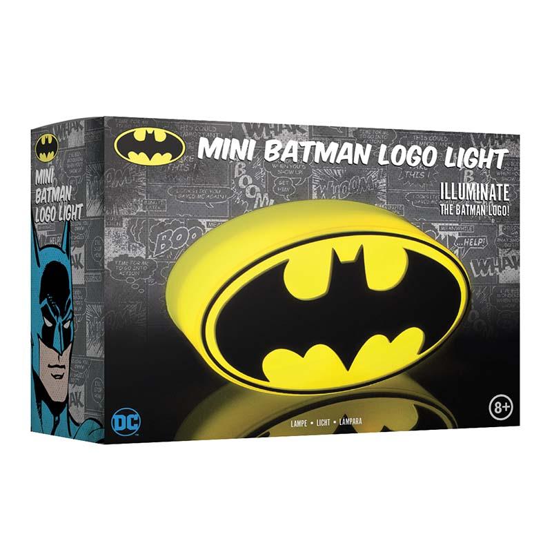 DC Comics  Mini Batman Logo Lámpa - Hangulatvilágítás - GeekHub ... eb0f05768b