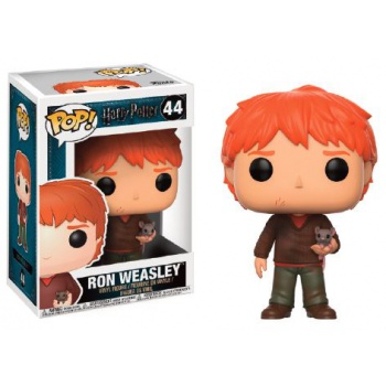 Funko POP! Harry Potter - Ron with Scabbers Figura