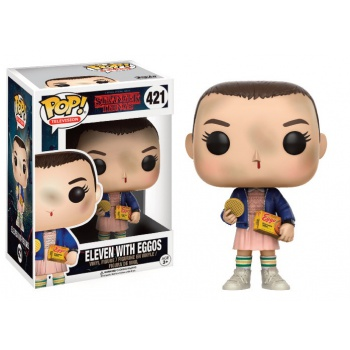 Eleven with eggos funko pop stranger things