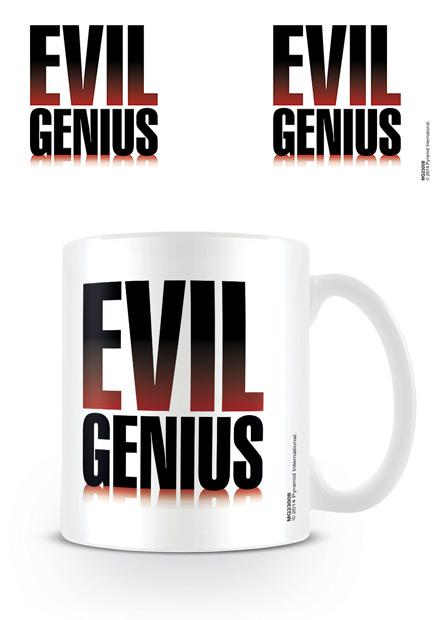 Evil Genius bögre