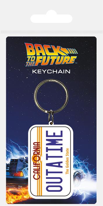 Vissza a jövőbe kulcstartó