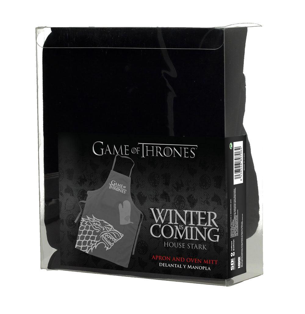 cc50dbeaaf Game of Thrones - Stark - Kötény & Sütőkesztyű - GeekHub - Geek ...