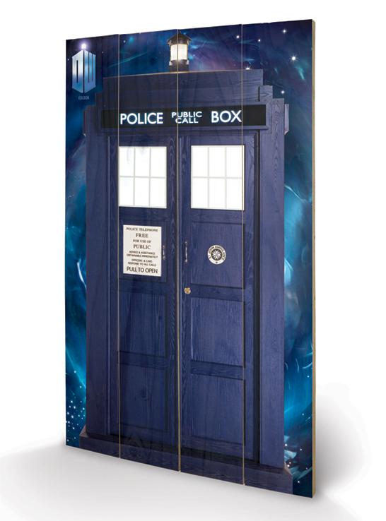 Doctor Who Tardis Poszter