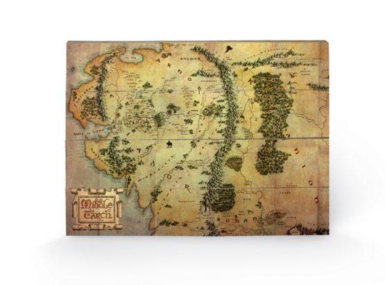 Hobbit Középfölde Térkép