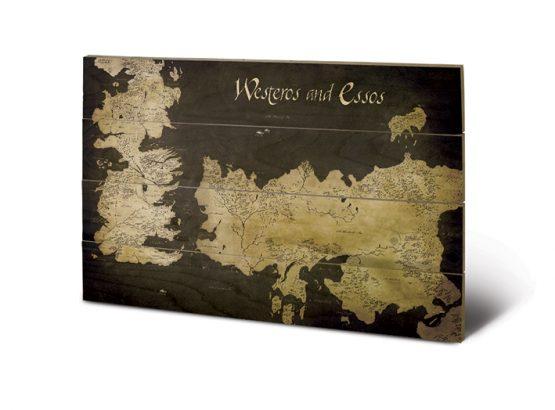 Trónok Harca Westeros térkép