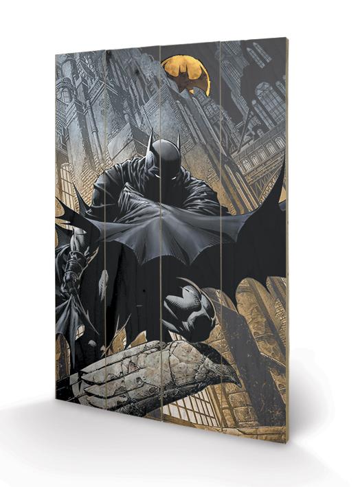 Batman poszter fa nyomat