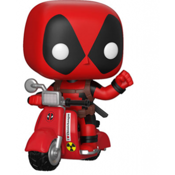 Funko POP! Marvel Deadpool on Scooter figura