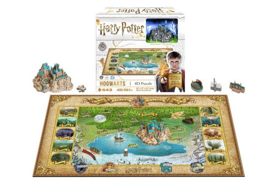 Harry Potter Puzzle Roxfort