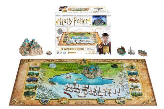 Harry Potter Puzzle Varázsvilág