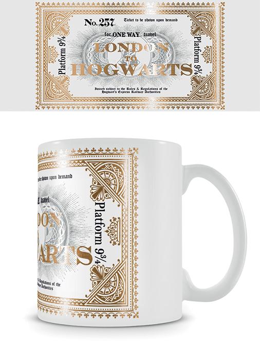 Harry Potter bögre ajándék 9 és 3/4 vágány Platform 9 3/4 Roxfort Expressz Hogwarts Expressz
