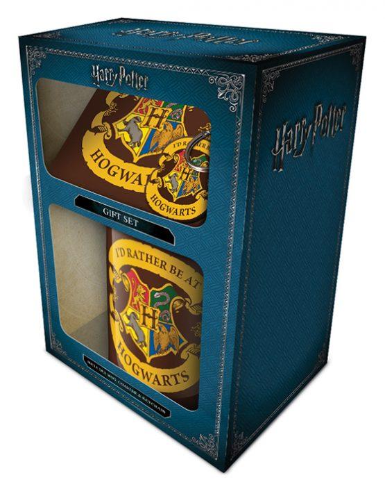 Harry Potter ajándékcsomag bögre Hogwarts Roxfort