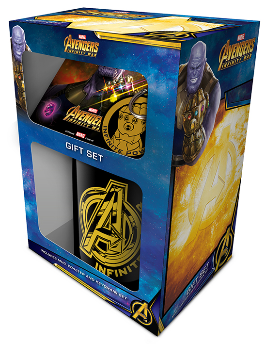 Avengers Infinity War ajándékcsomag bögre Bosszúállók Marvel Thanos