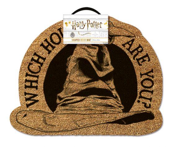 Harry Potter lábtörlő ajándék Sorting Hat Teszlek Süveg