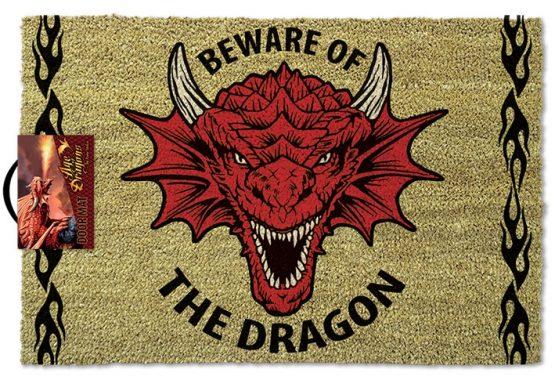 D&D lábtörlő ajándék dragon