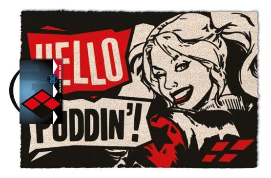 Harley Quinn lábtörlő ajándék DC Comics