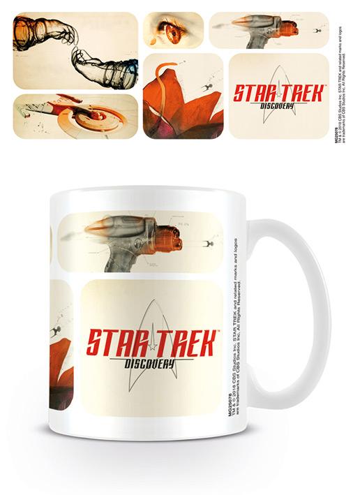 Star Trek bögre ajándék Discovery Űrszekerek