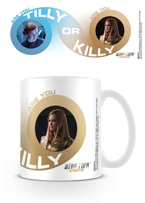 Star Trek Discovery ajándék bögre Tilly Killy