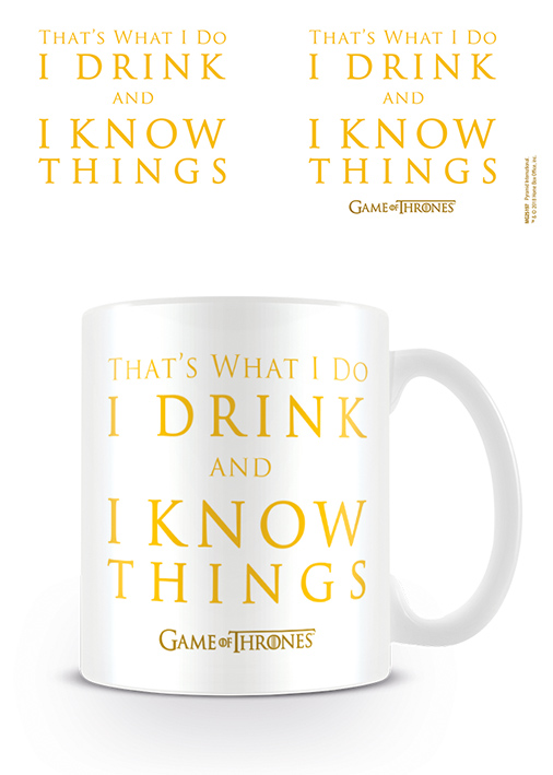 Game of Thrones bögre ajándék Tyrion Lannister Trónok Harca