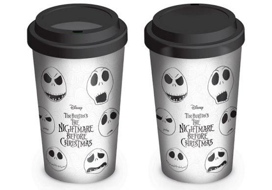 Tim Burton Nightmare Before Christmas Disney utazó bögre ajándék