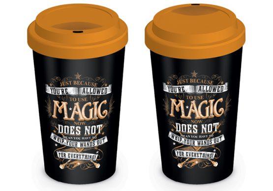 Harry Potter utazó bögre Magic Varázslat ajándék