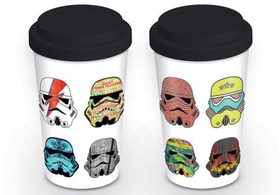 Star Wars utazó bögre Stormtrooper Rohamosztagos ajándék
