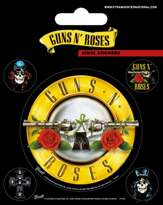 Guns 'n Roses matrica rock zene