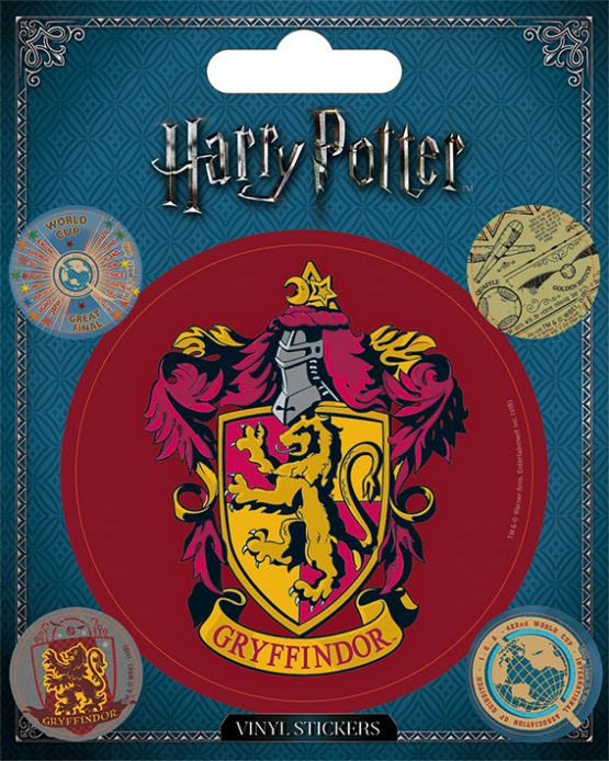 Harry Potter matrica Gryffindor Griffendél