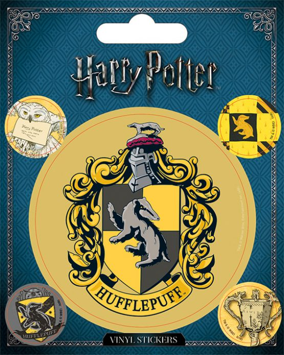 Harry Potter matrica Hugrabug Hufflepuff