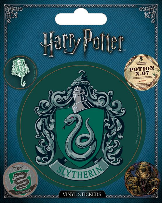 Harry Potter matrica Slytherin Mardekár