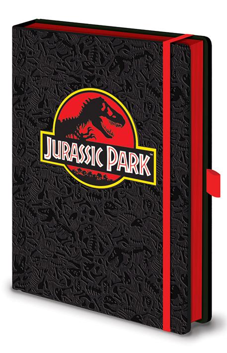 Jurassic Park jegyzetfüzet
