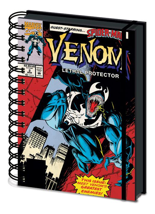 Venom jegyzetfüzet