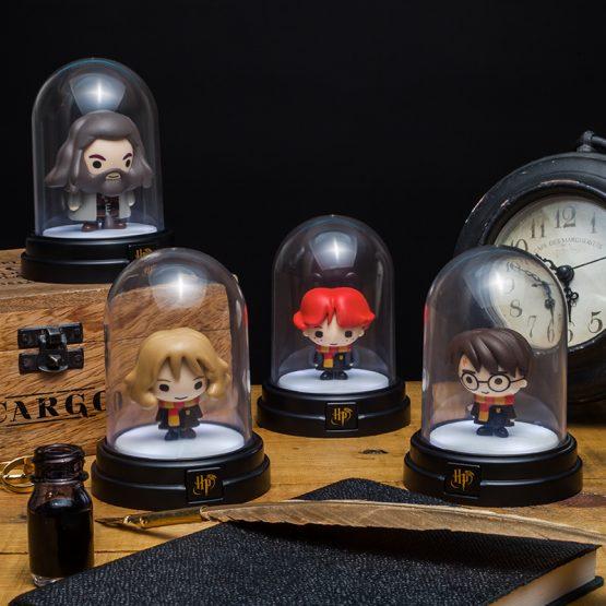 Harry Potter lámpa - Ron, Hermione, Hagrid