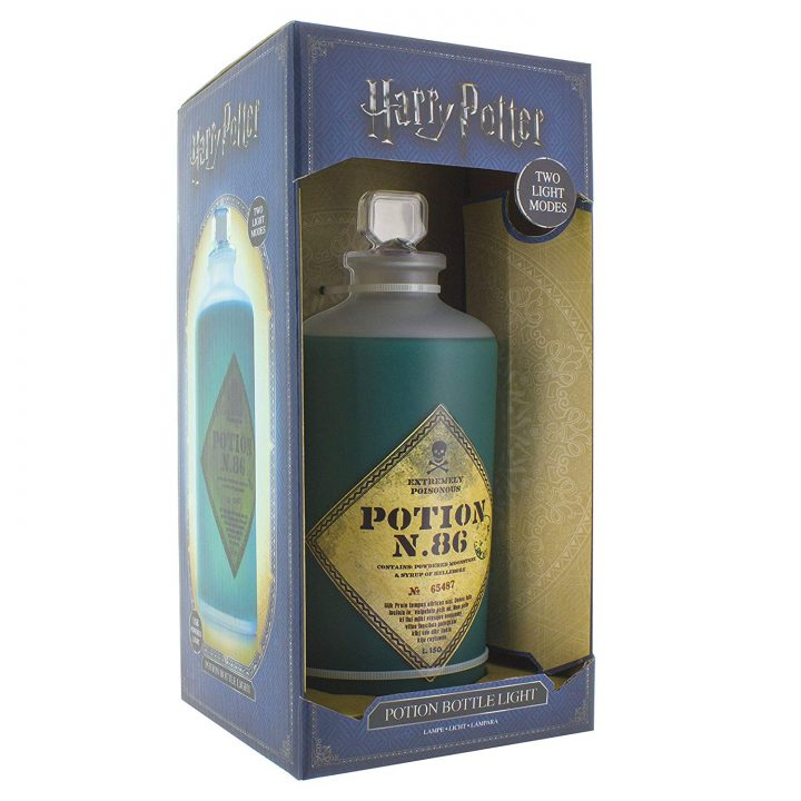 Harry Potter Potion főzet ajándék lámpa