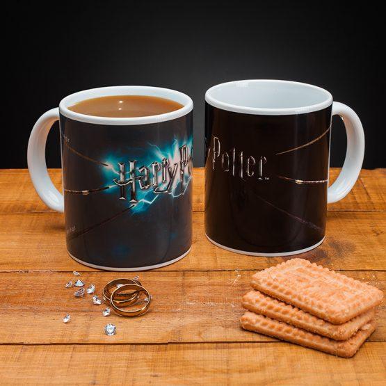 Harry Potter hőre változós bögre - varázspálca