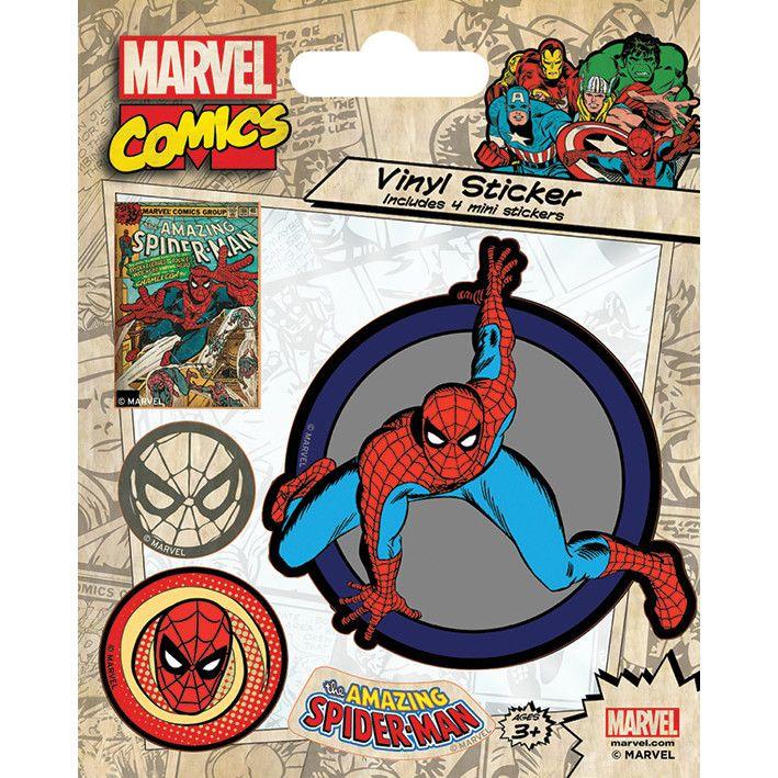 Pókermber matrica Spiderman Marvel