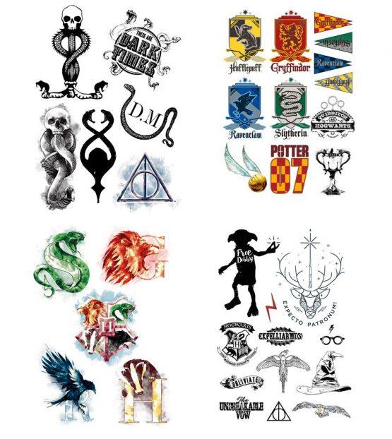 Harry Potter tetoválás