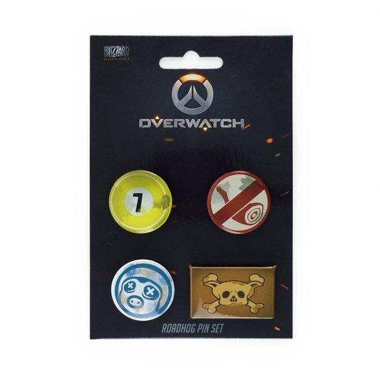 overwatch kitűzőszett 4 darabos