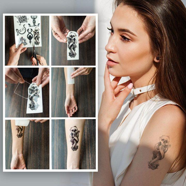 Halálfaló tetoválás