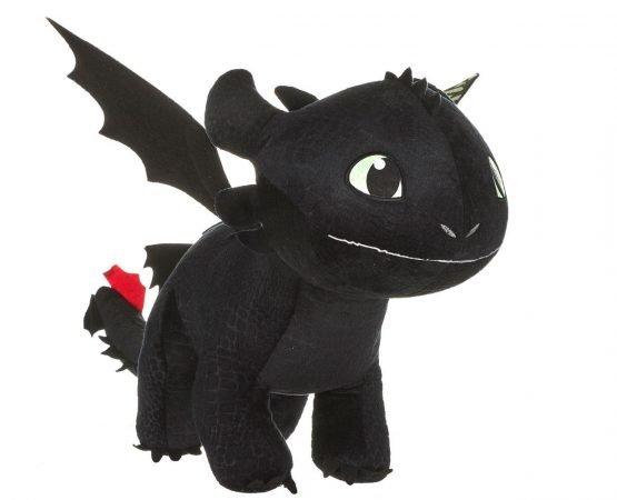 Így neveled a sárkányodat - Fogatlan (Toothless) Plüss 60 cm