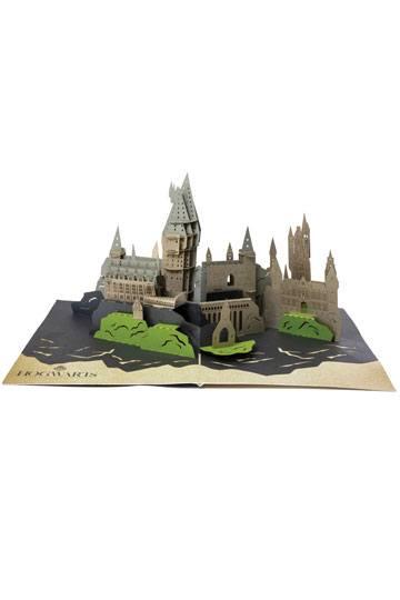 Harry Potter Roxfort képeslap