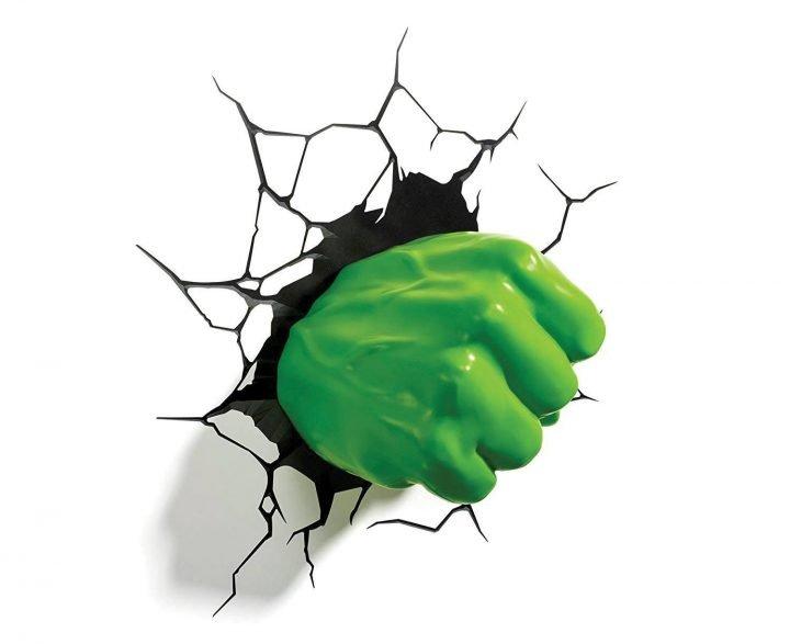 Marvel: Hulk Ökle 3D Lámpa