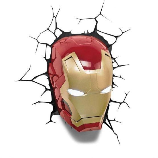 Marvel Iron Man 3D lámpa