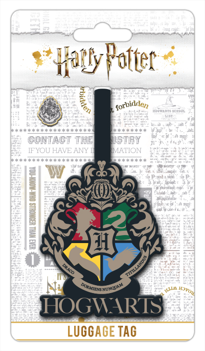Harry Potter Roxfort Poggyászcímke