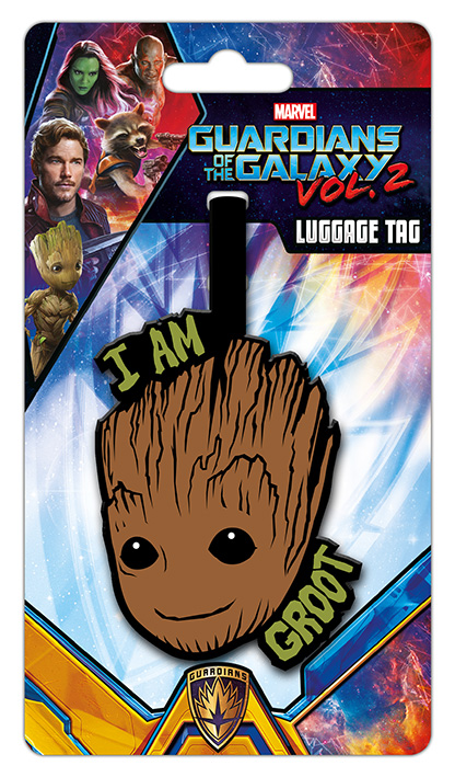 Marvel Groot Poggászcímke